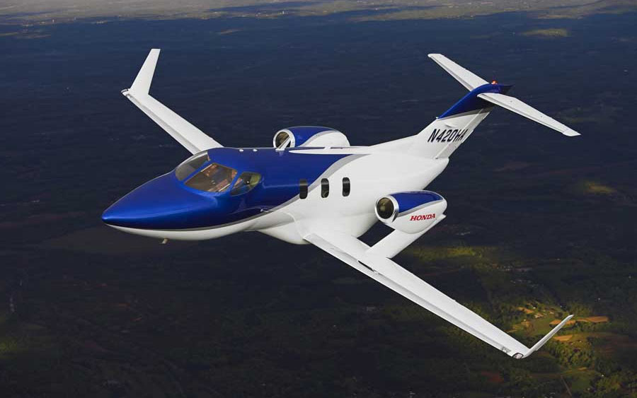 HondaJet is a popular very light jet rental