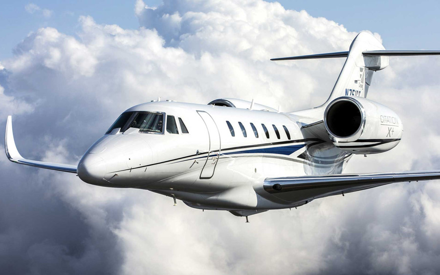 Cessna Citation X; midsize jet