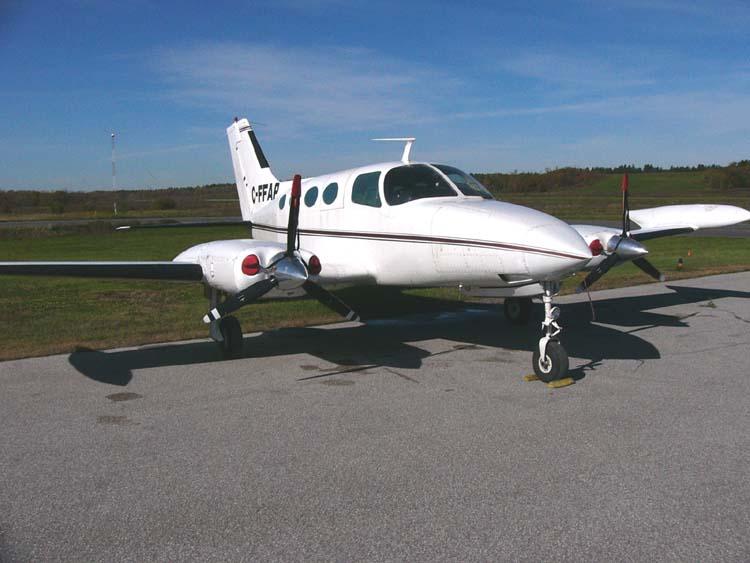 Twin Engine Piston Aircraft