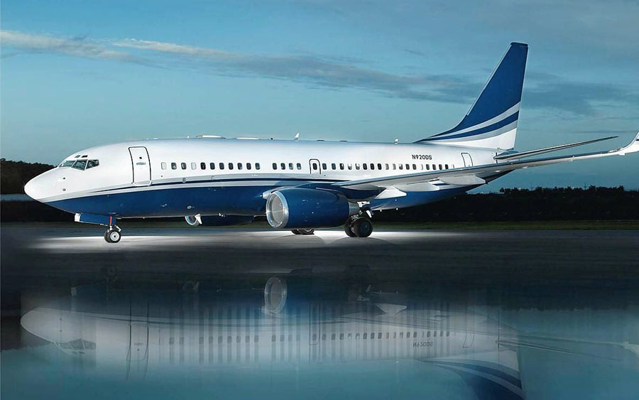 BBJ Boeing 737 Business Jet