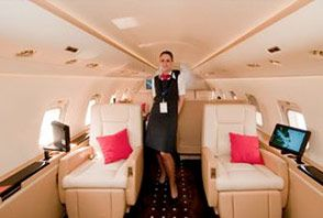 Private Jet Flight Attendants