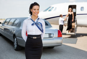 private charter flight attendant service