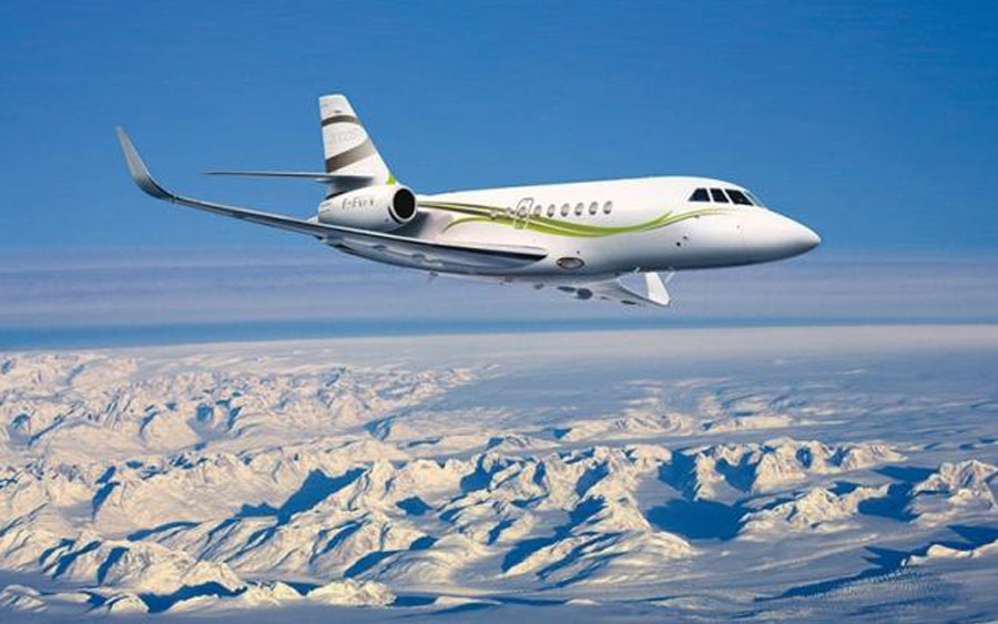 top private jets 2018 - Dassault Falcon 2000LXS