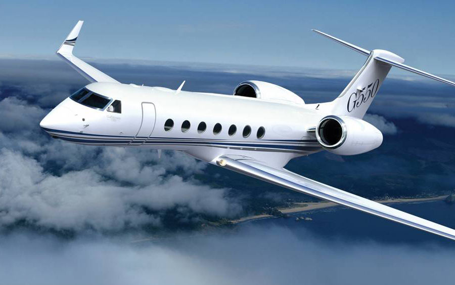 best business jets in the world - Gulfstream 550