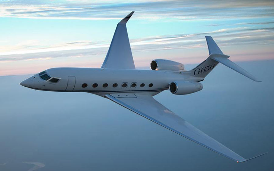 best light business jets - Gulfstream 650