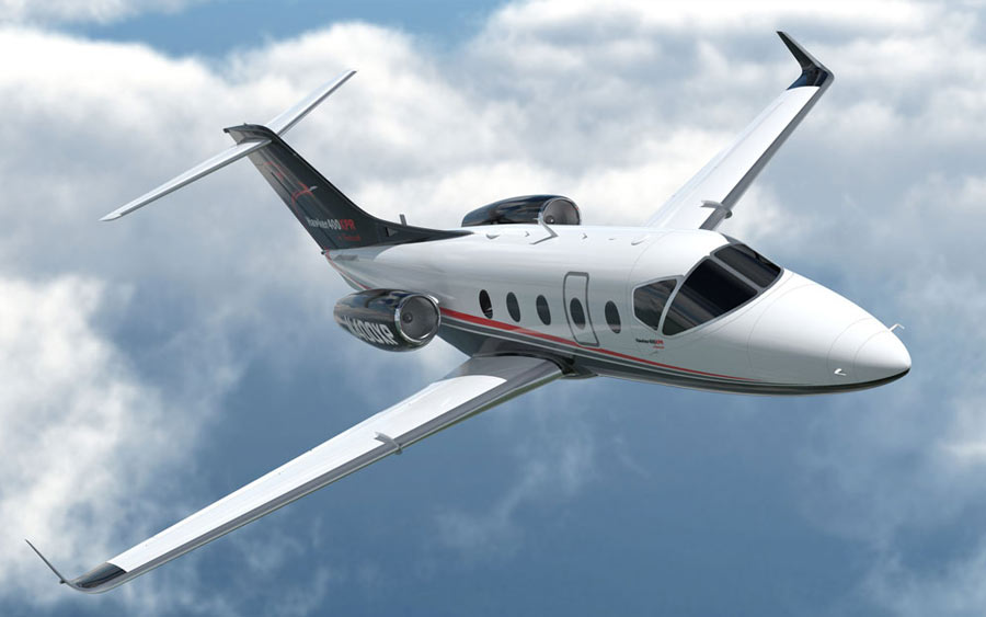 top business jet - Hawker 400XP