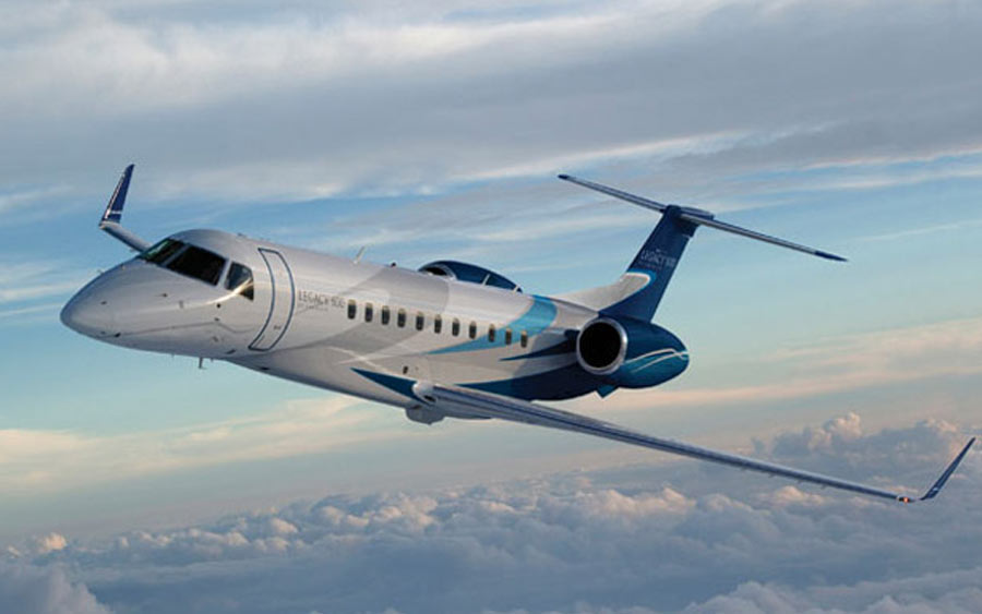 top private jets - Embraer Legacy 500