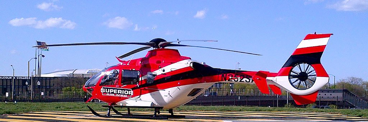 private helicopter ec135
