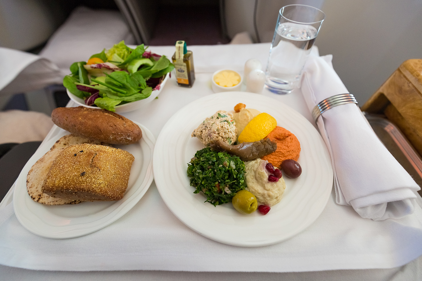 in-flight charter meals