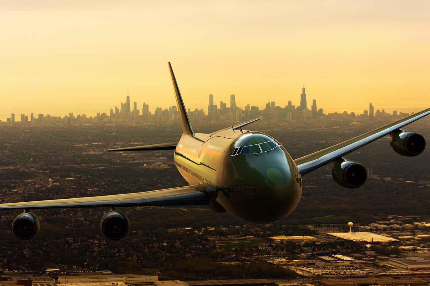 Chicago prviate jet airport departure