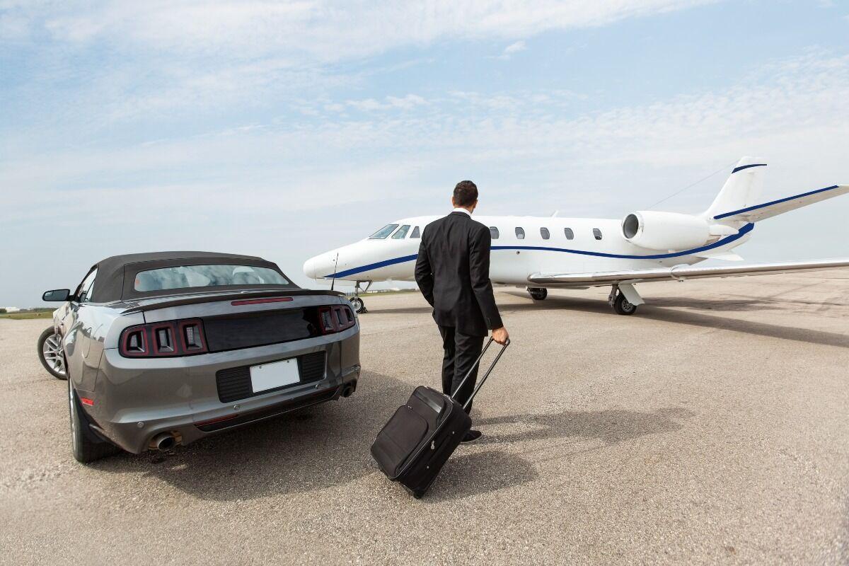 private jet travel work
